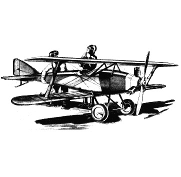 The Lincoln Biplane: Looks pretty small to me, but might be just the thing for someone looking for an ultra compact homebuilt.