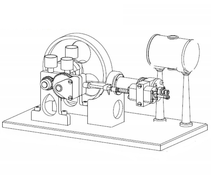 small diesel engine plans
